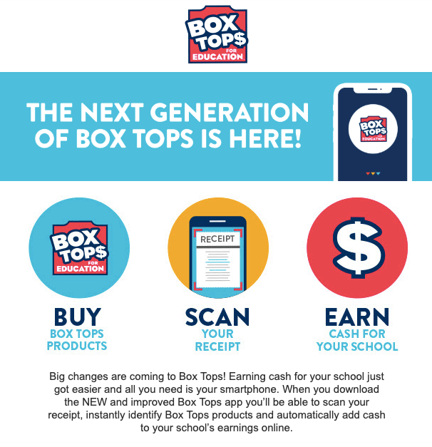 Box Tops for Education: Get the App! – ALKI ELEMENTARY PTA