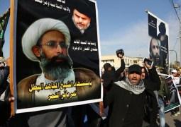 شاركت الأحزاب الشيعية العراقية ومؤيدوها في المظاهرات