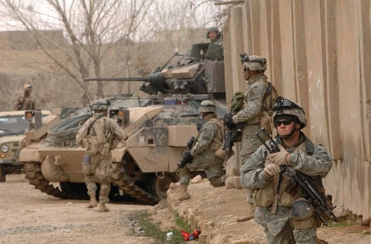 القوات الامريكية في العراق