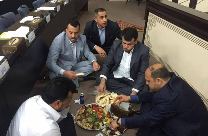 اعتصام البرلمان العراقي