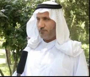 الناطق باسم الحراك الشعبي في ديالى الشيخ أحمد سعيد