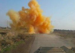 استخدام داعش للسلاح الكيمياوي في معركة تكريت