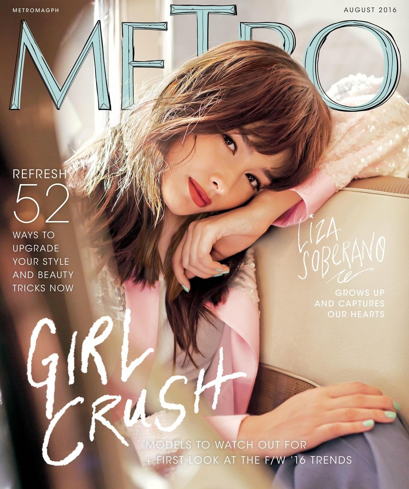 Liza Soberano for Metro Magazine