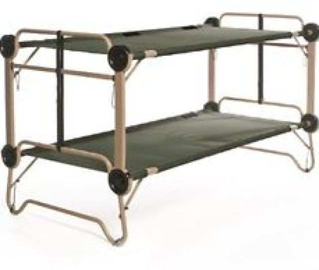 Arm O Bunk Outdoor Camping Double Field Cot Double Poles Bed Us Army Camp