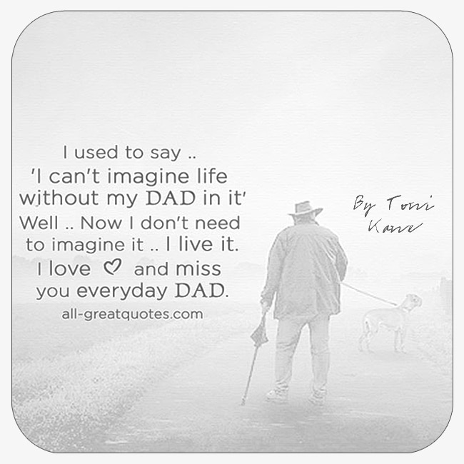 We Love You Dad Quotes