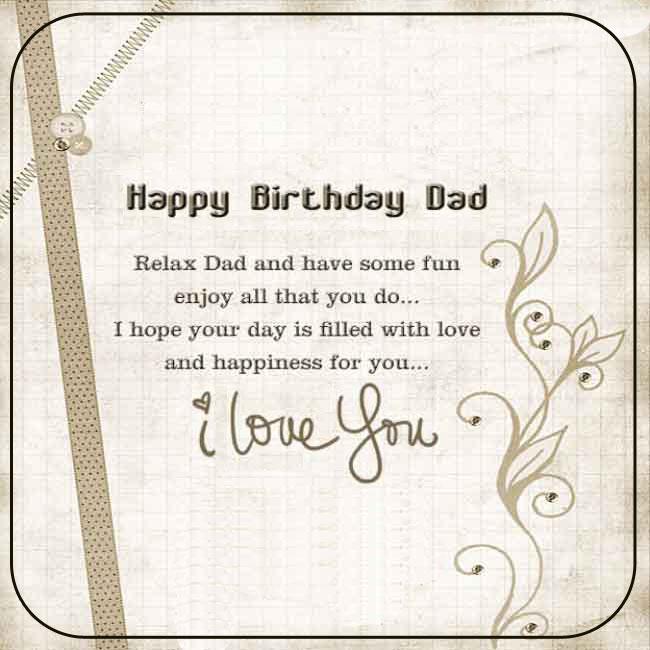 Happy Birthday Dad Free Birthday Cards For Dad On Facebook