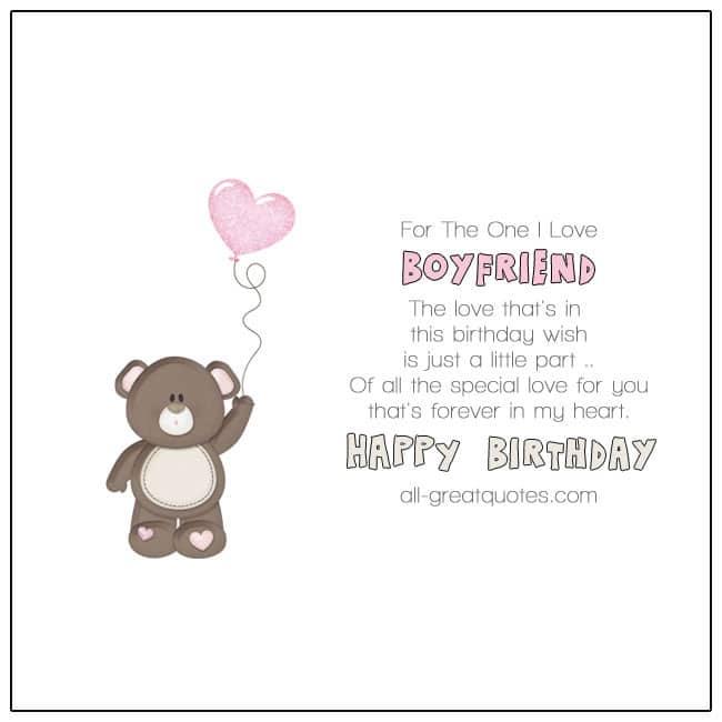 Happy Birthday Boyfriend Birthday Wishes For Boyfriend To Write