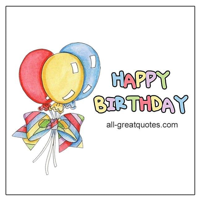 Birthday Greeting Cards For Facebook Happy Birthday