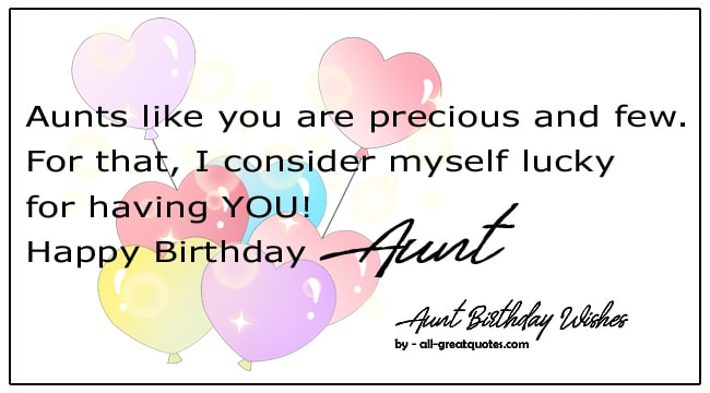Happy Birthday Aunt Biirthday Wishes For Aunt Birthday Poems For Aunt