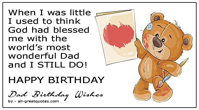 Birthday Wishes For Dad Birthday Poems Greeting Cards For Facebook