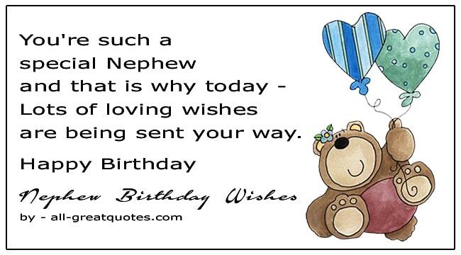 Happy Birthday Nephew Birthday Wishes For Nephew Birthday Wishes