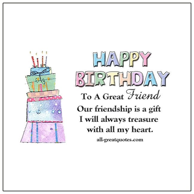 Happy Birthday Wishes For Friends Greeting Cards For Facebook