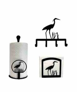 Blue Heron Kitchen Decor