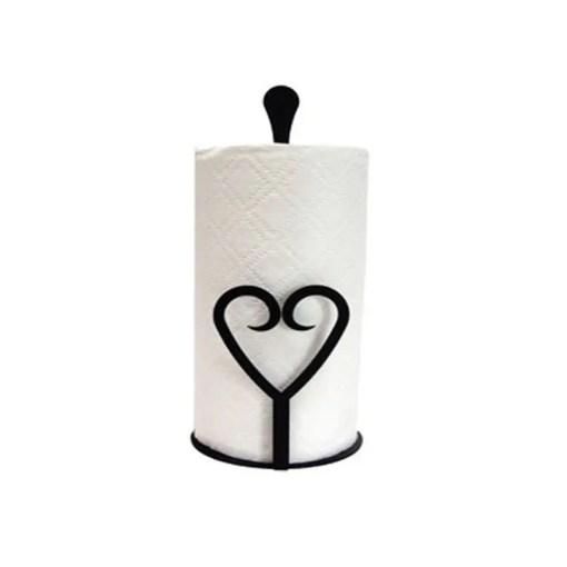 Heart Paper Towel Holder
