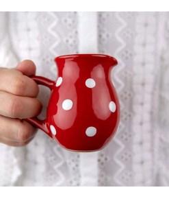 Polka Dot Creamer Milk Jug