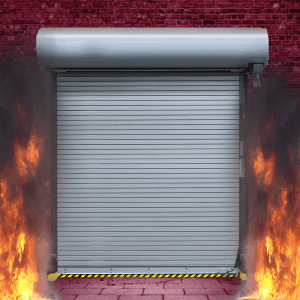 Rolling Steel - FIRE RATED Insulated Service Door