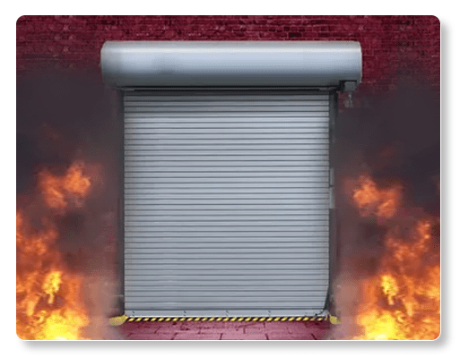 Fire Rated Rolling Steel Insulated Wayne Dolton Model 700C