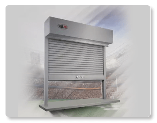 Rolling Counter Shutters C.H.I - Model 6522