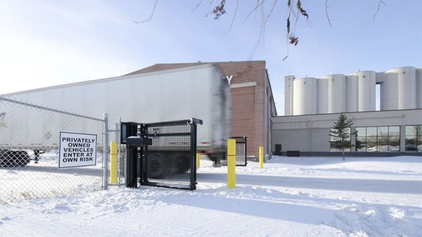 Industrial Folding Gates - Wallace Foldsmart Gate