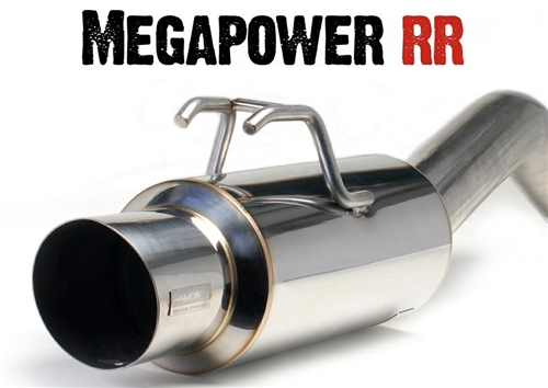 skunk2 megapower rr exhaust civic ex coupe 92 00 76mm