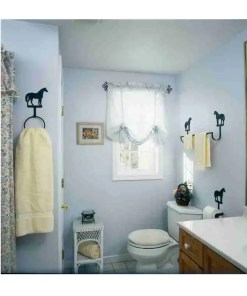 Horse-Decor-Bath-Set