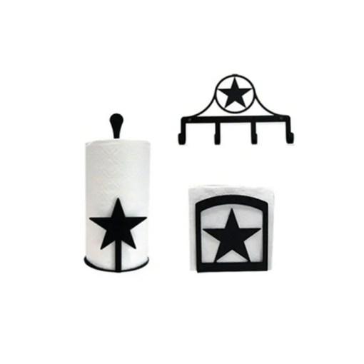 lone star kitchen decor set