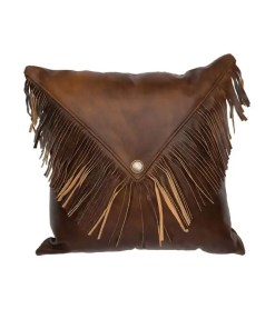 Harness Leather Pillow