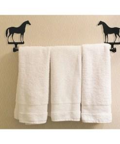 Horse Bath Towel Rack