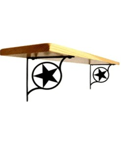 lone star shelf brackets