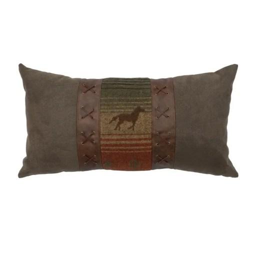 mustang raven pillow