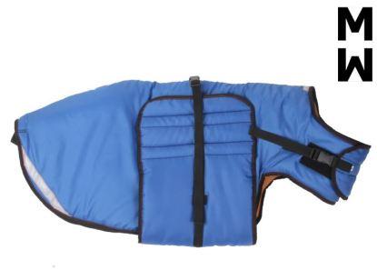 Manteau Manmat ThermoCoat bleu