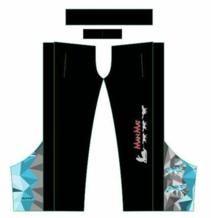 Surpantalon Sport Mushing MANMAT Bleu-Gris