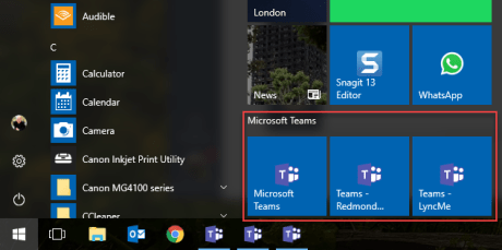 How to use multiple Teams networks at once on the desktop