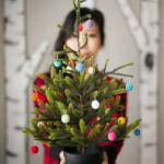 Mini Christmas Tree With Crochet Ornaments All About Ami