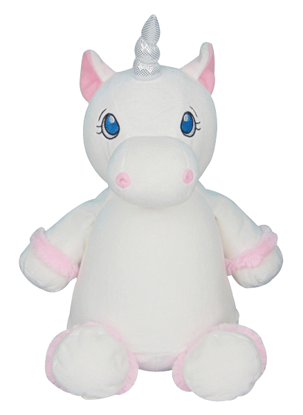 Cubbies White Unicorn Cubby Stuffie