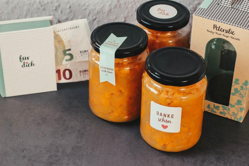 Apfel-Kürbis-Marmelade mit cook & STYLE vom moses. Verlag gestaltet