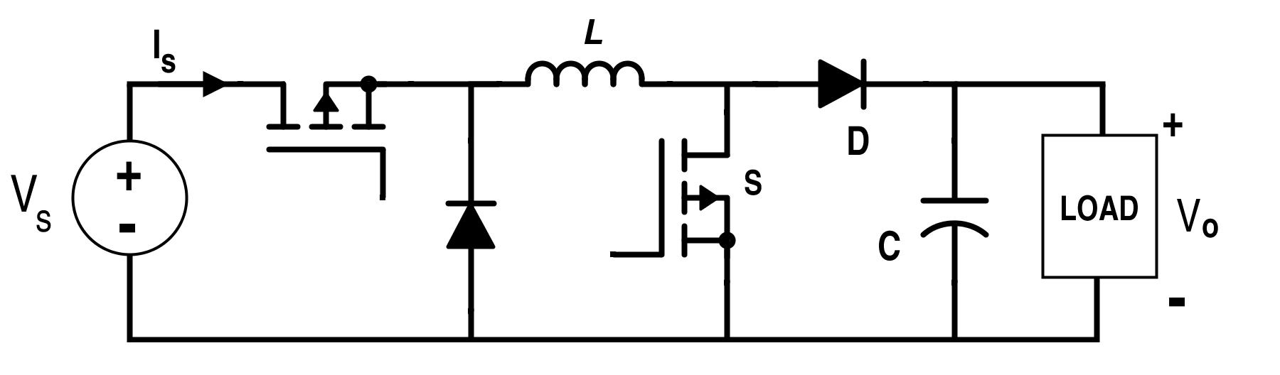 Dc Boost Converter Circuit Simple