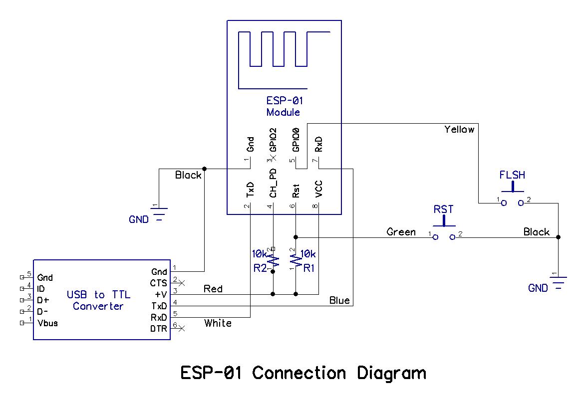 Build A Picaxe Esp 01 Wi Fi Communicator
