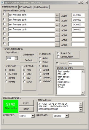 Update the Firmware in Your ESP8266 WiFi Module