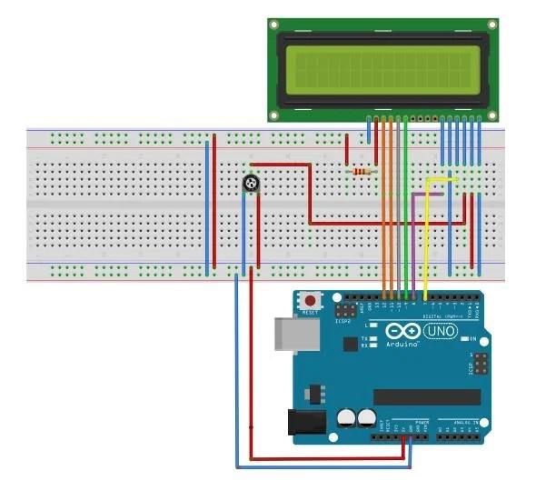 Code Arduino Matrix Led