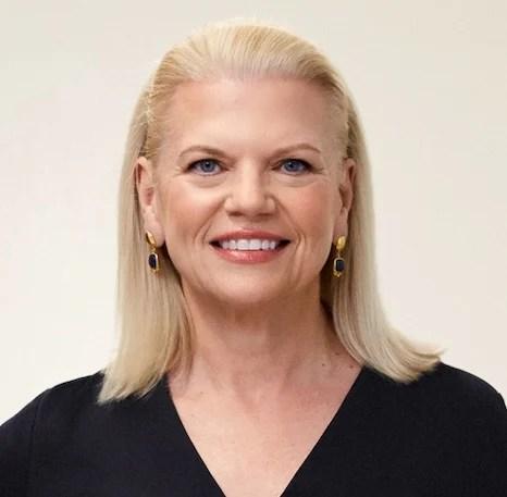 Ginni Rometty of IBM.