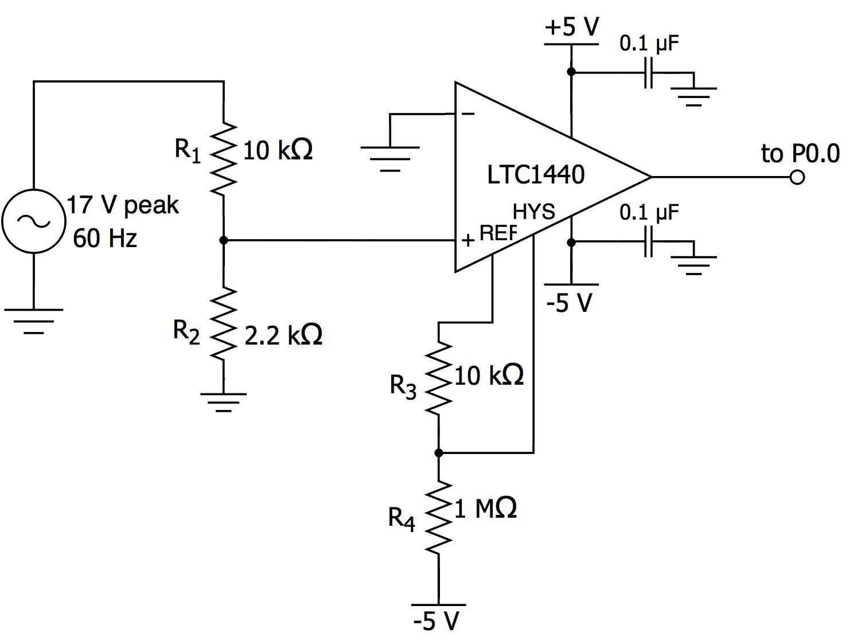 Ambient Light Monitor Zero Cross Detection