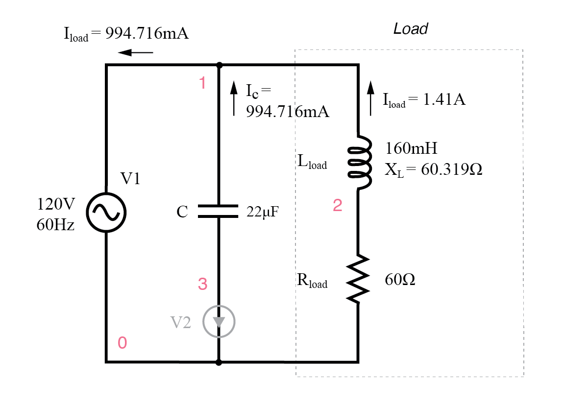 Power Factor Formula In Ac Wiring Schematic Diagram