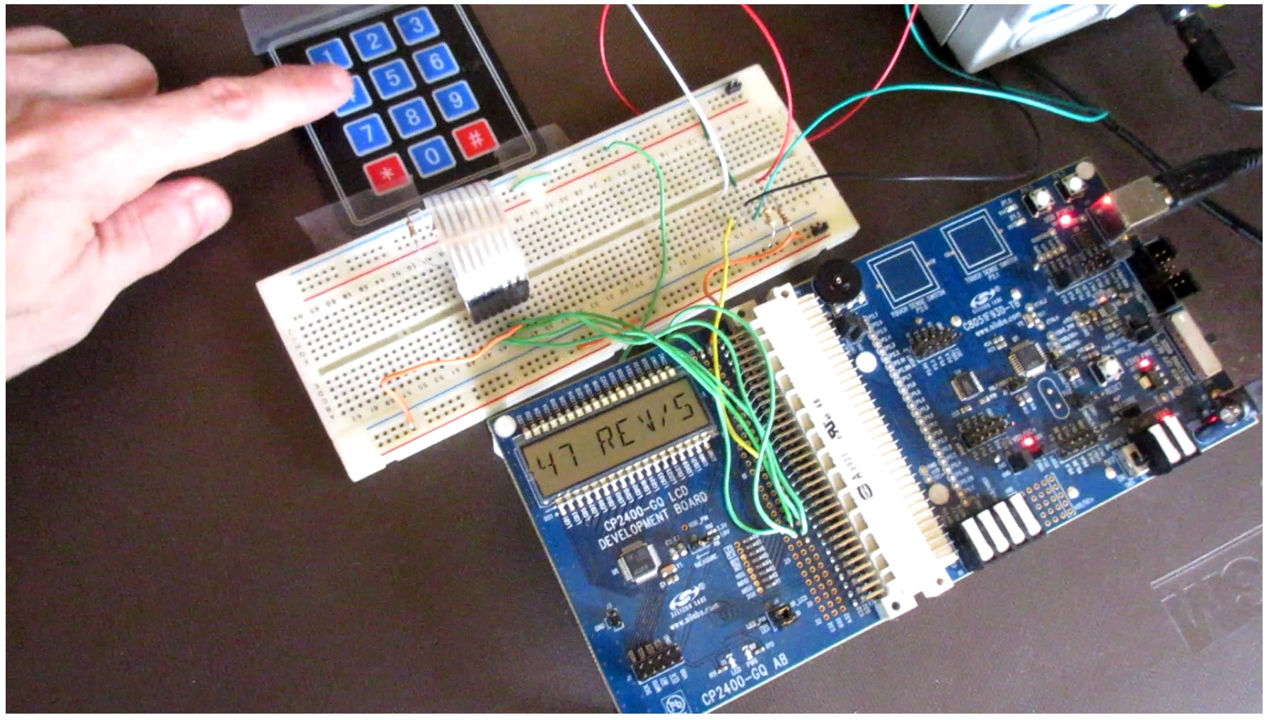 Adding An Lcd And Keypad To A Tachometer And Speedometer