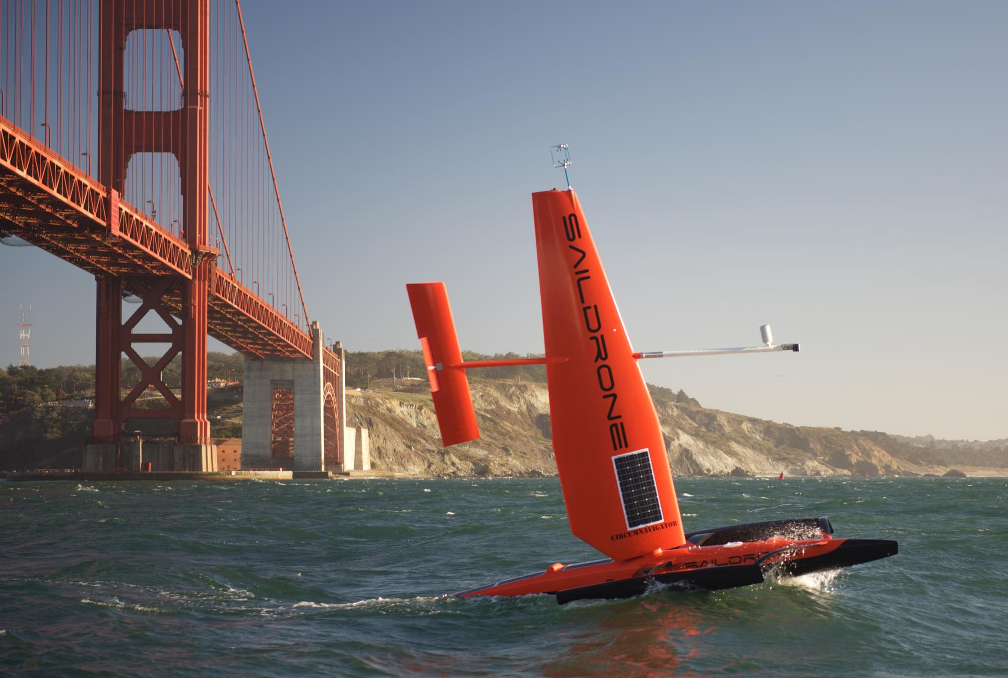 This Sailing Drone S Sensors Can Chart The Ocean Like