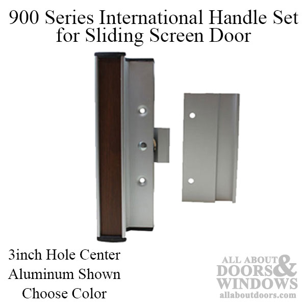 handle set for sliding patio door 900 series international 3 inch choose color