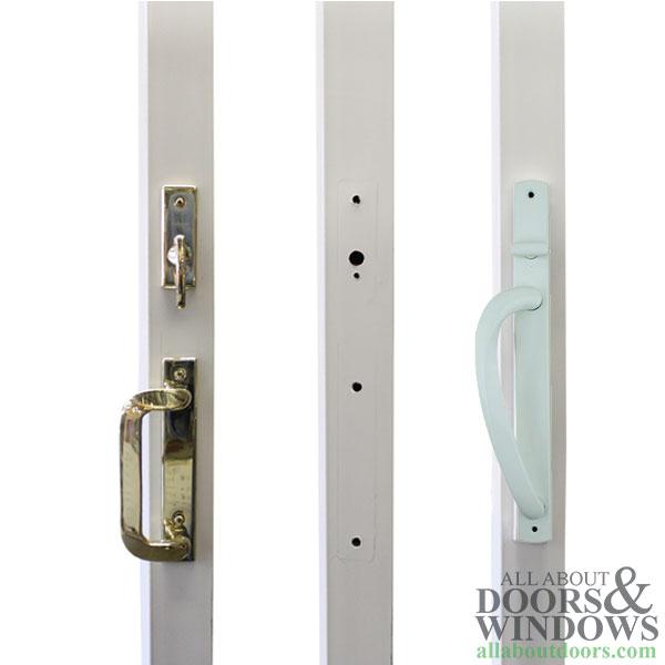 truth keyed curved top centered sliding door handles choose color