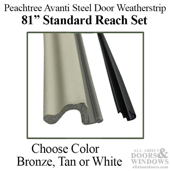 Peachtree Avanti Steel Door Weatherstrip Q Lon Standard