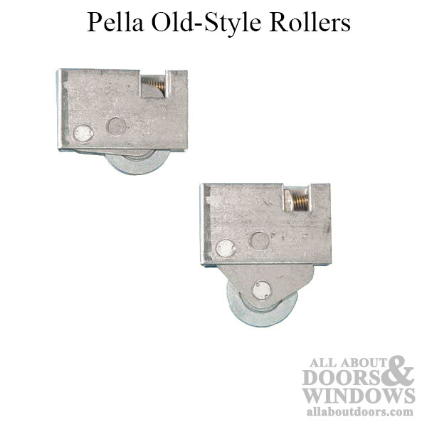 roller assembly pella patio door old style