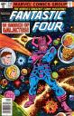 Cover to Fantastic Four #210 featuring Galactus